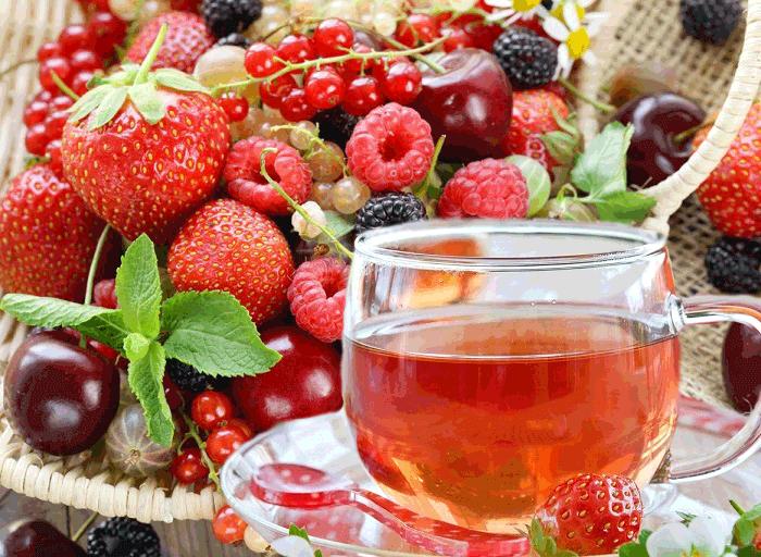 Полезные свойства ягодного чая