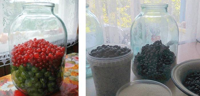 компот из ягод