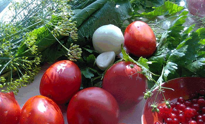консервирование помидоров ингредиенты